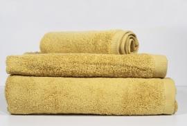 conjunto 3 toalhas banho yellow