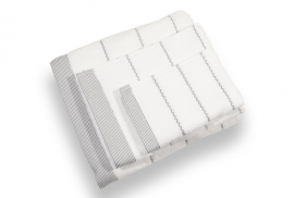 Conjunto Toalhas 600grs/m2 Branco