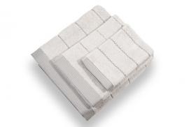 Conjunto Toalhas 600grs/m2 Silver